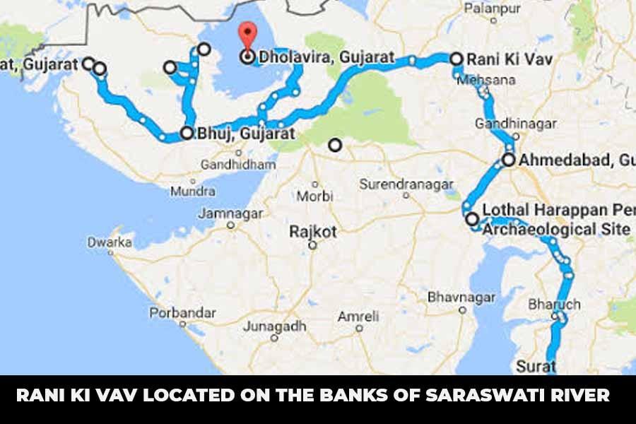 Rani Ki Vav Located On The Banks Of Saraswati River