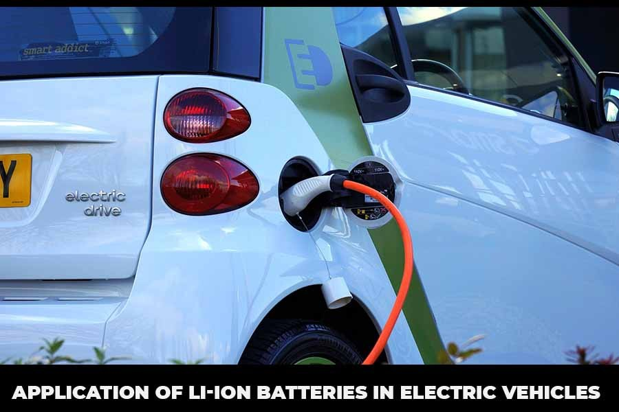 Application of Li-ion batteries in Electric vehicles